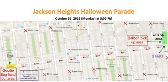 Jackson Heights Gets Ready For 26th Annual Halloween