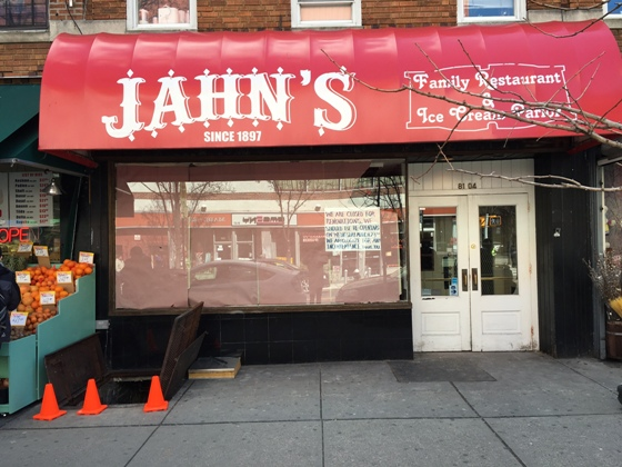 Jahn s restaurant and ice cream parlor to reopen friday