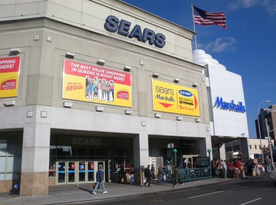 Sears Confirms That Its Rego Park Store Will Close